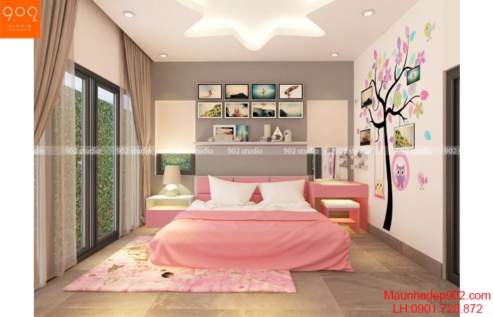 Nội thất nhà đẹp - Phòng ngủ 3 - NT29