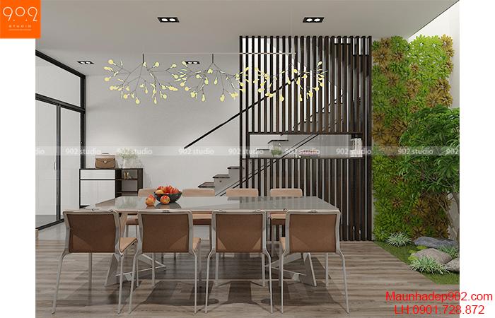 Thiết kế nội thất shophouse phòng bếp –NT32