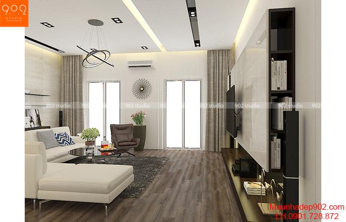 Thiết kế nội thất shophouse mặt bằng tầng 3 –NT32 ((nguồn: maunhadep902.com)