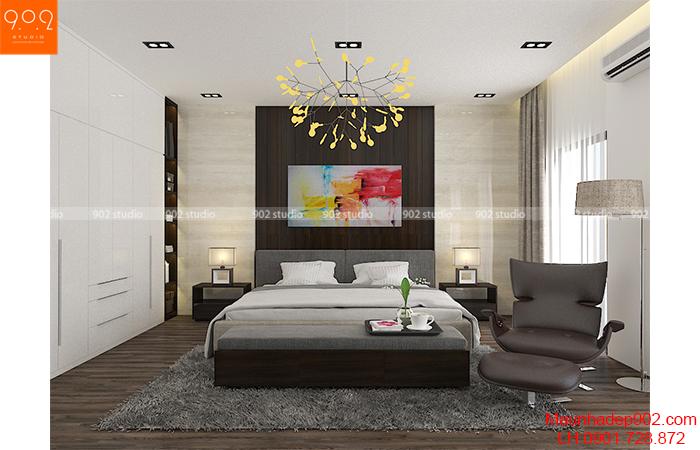Thiết kế nội thất phòng ngủ shophouse ((nguồn: maunhadep902.com)
