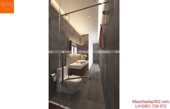 nội thất chung cư đẹp - nhà vệ sinh