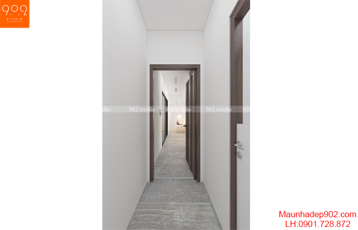 nội thất chung cư đẹp - hành lang