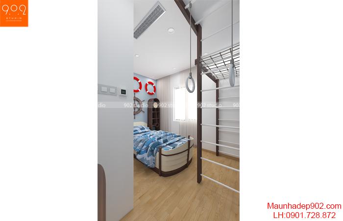 nội thất chung cư đẹp - phòng ngủ