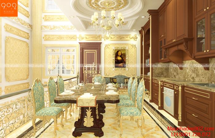 Thêm một góc nhìn nội thất phòng bếp đẹp(nguồn: maunhadep902.com)