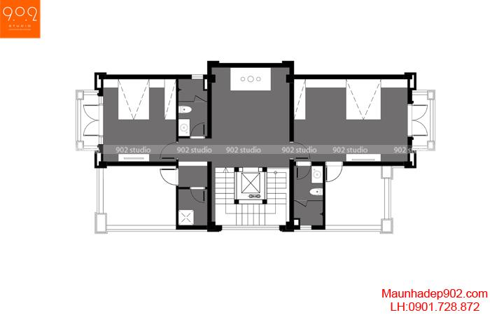 Thiết kế nhà biệt thự hiện đại