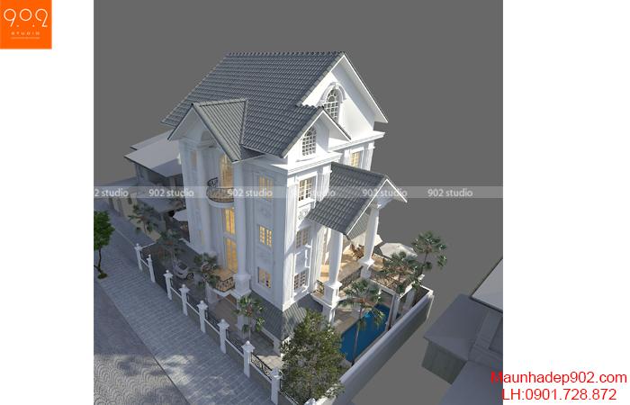 Mẫu biệt thự sang trọng đẹp của đại gia Việt