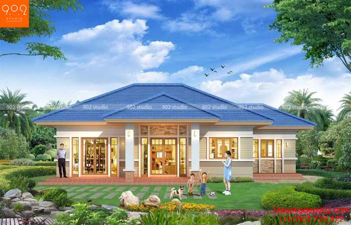 Kiểu nhà đẹp được đánh giá cao về mỹ quan, chi phí cũng như chất lượng