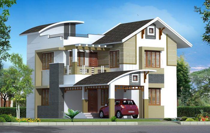 Cách tính chi phí nhà 2 tầng