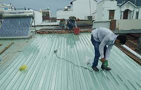 chống nóng cho mái nhà
