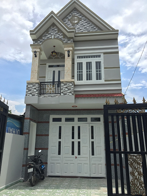 Nhà 1 trệt 1 lầu mặt tiền nhà phố đẹp