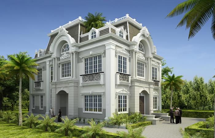 Nhà dẹp tân cổ điển