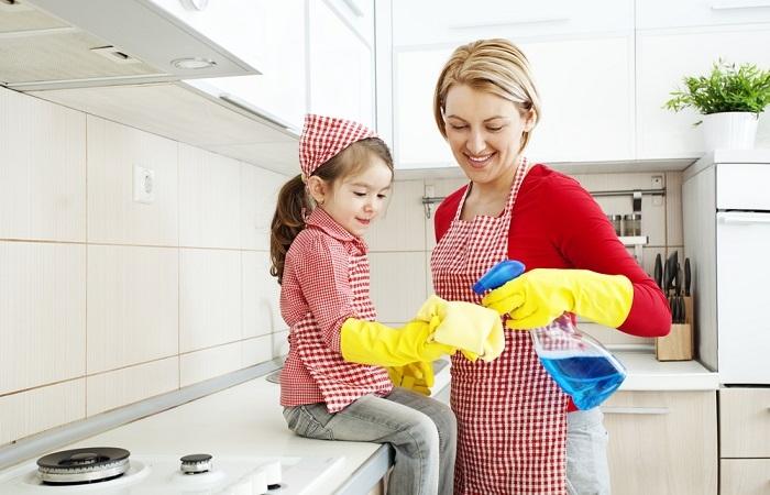 """Bí quyết dọn nhà siêu sạch chỉ trong """"vài cái chớp mắt"""""""