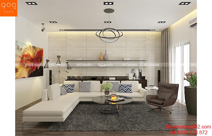 Phòng khách nhà chung cư, biệt thự có thể nói là nơi quan trọng nhất trong một ngôi nhà, bởi vậy thiết kế nội thất cho phòng khách là công việc cần thực hiện đầu tiên khi thiết kế nội thất