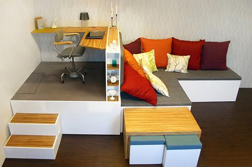 Sử dụng những món đồ nội thất đa năng cho không gian nhỏ