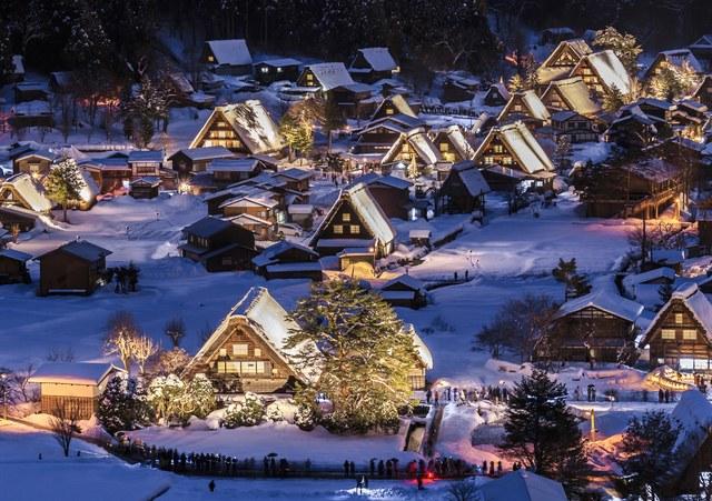 1.Shirakawa-go, Nhật Bản