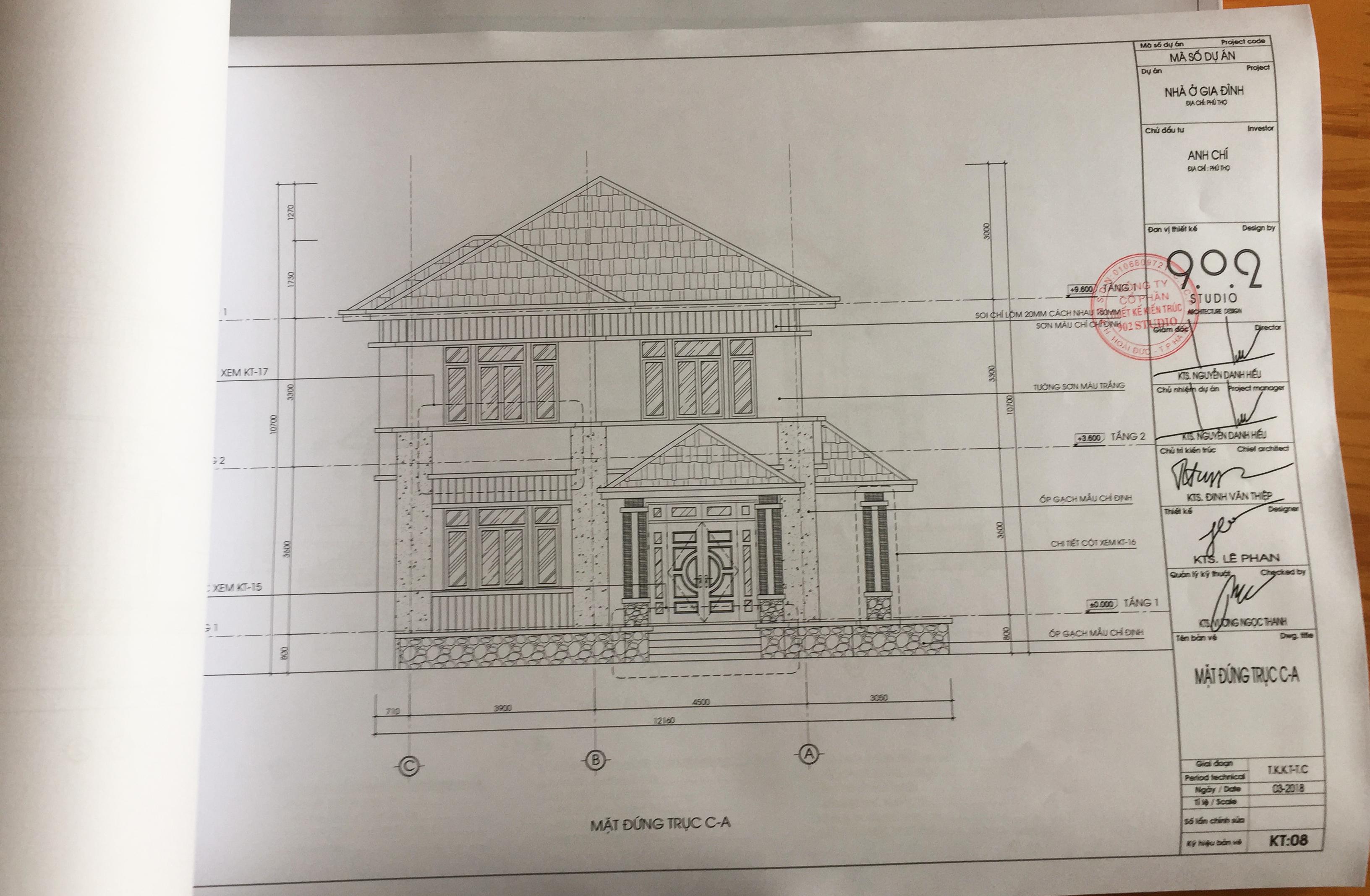 Hồ sơ thiết kế nhà đẹp