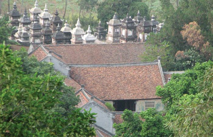 Nhà ở sau đình chùa có sao không