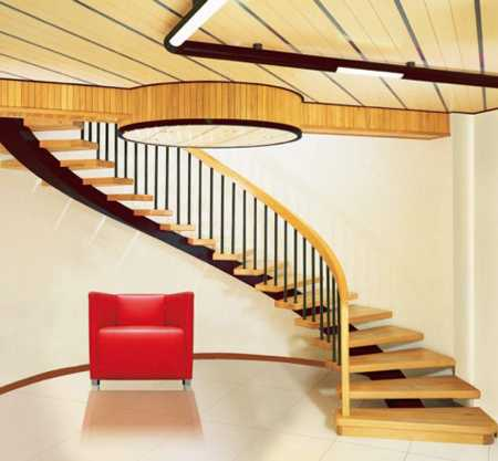 Cầu thang bao gồm 2 phần động khẩu và lai mạch