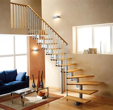Việc bố trí phần động khẩu được coi là phần quan trọng nhất trong công việc bố trí cầu thang của căn nhà