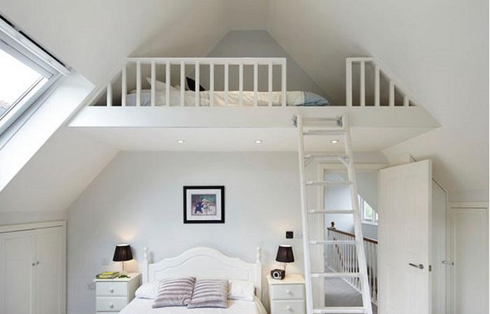 Bật mí những biện pháp trang trí tầng lửng thành phòng ngủ