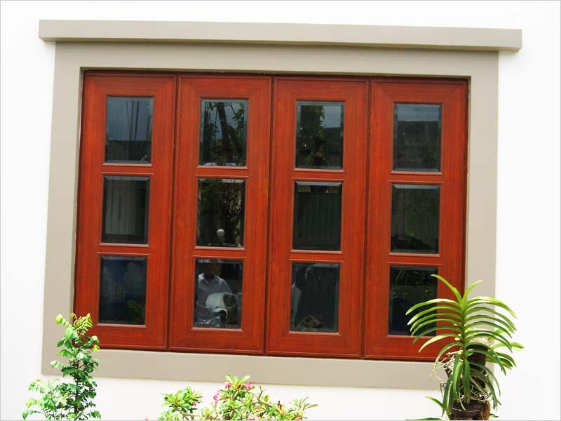 Kích thước cửa gỗ 4 cánh đẹp cho mọi nhà