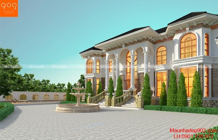 Thiết kế biệt thự tân cổ điển phong cách được yêu thích nhất 2018