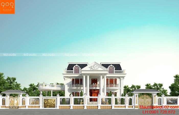 Biệt thự đẹp 2 tầng - BT165