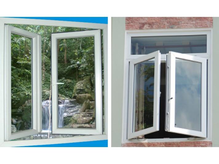 Ở những khu vực nhiều nắng, chúng ta cần thiết kế của sổ 2 cánh có diện tích nhỏ