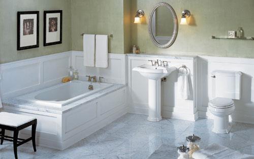 Nên sử dụng những gam màu thuộc hành Thủy, đặc biệt là màu trắng để tạo cảm giác hài hòa, trang nhã