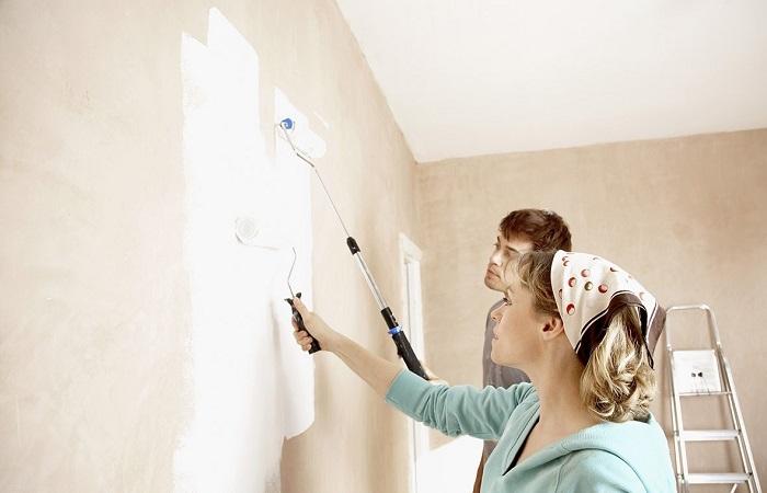 Tìm hiểu về quy trình sơn tường cũ