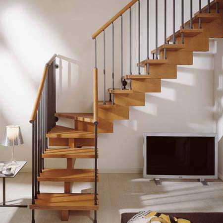 Một trong những tiêu chuẩn thiết kế cầu thang đó là cần phải lưu ý tới độ dốc của thang