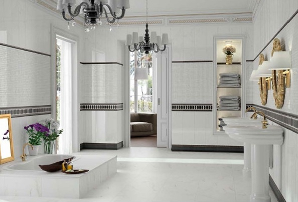 việc ốp gạch tường cao bao nhiêu có ảnh hưởng rất nhiều tới tính thẩm mỹ của cả căn nhà.