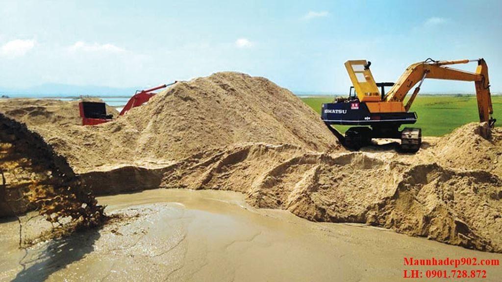 Tùy thuộc vào từng loại cát lại có cách phân biệt khác nhau