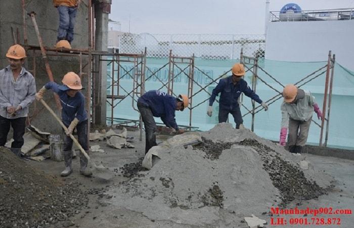 Gia chủ nên tìm hiểu về một số kỹ thuật cơ bản như 1 khối cát xây được bao nhiêu m2 tường.