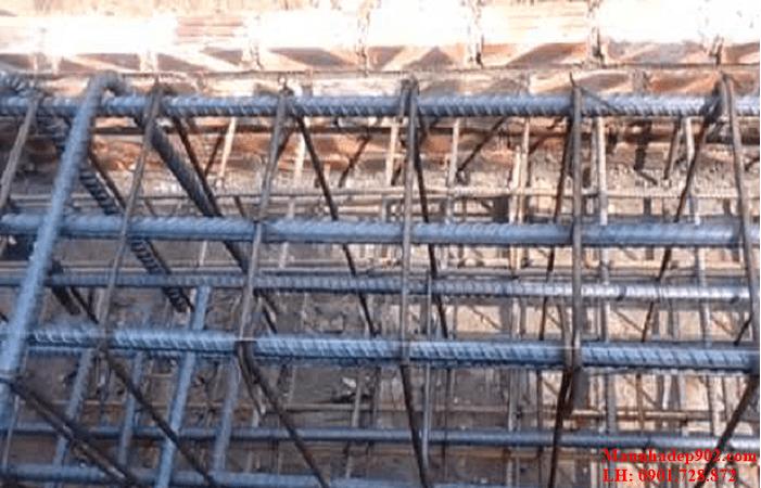 Hướng dẫn cách đan sắt móng nhà