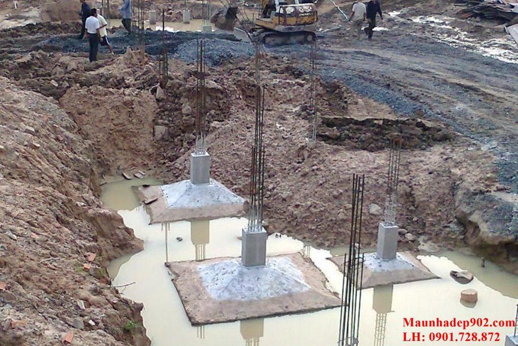 Có rất nhiều biện pháp xử lý móng khi xây nhà trên đất ruộng