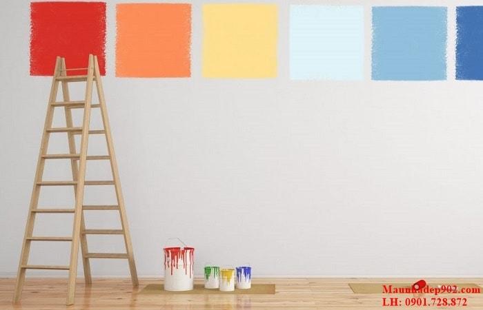 Các bước cải tạo tường cũ bằng cách sơn đè lên lớp sơn cũ