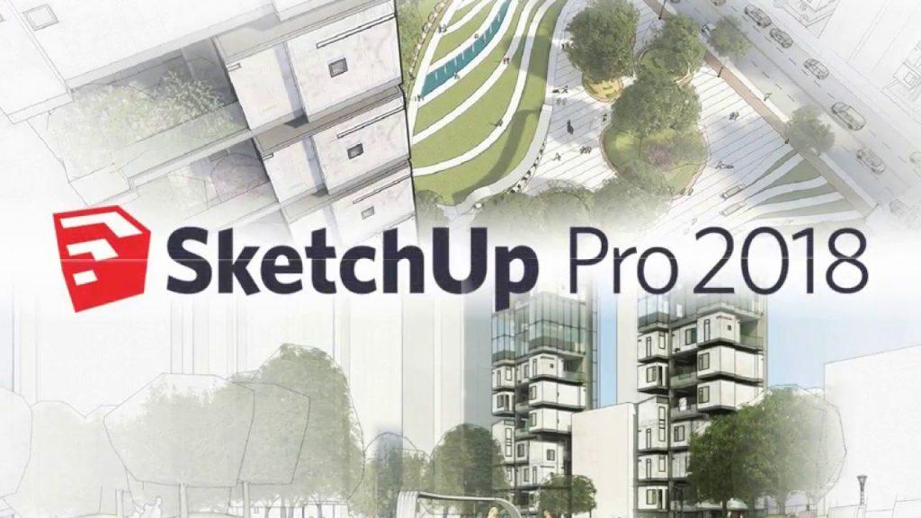 Phần mềm Sketup chỉnh sửa, vẽ mô hình 3D