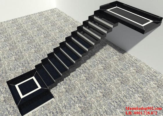 Chiếu tới có thể nói là một vị trí quan trọng, phải đạt được độ rộng ít nhất gấp 2-3 lần kích thước bậc thang.