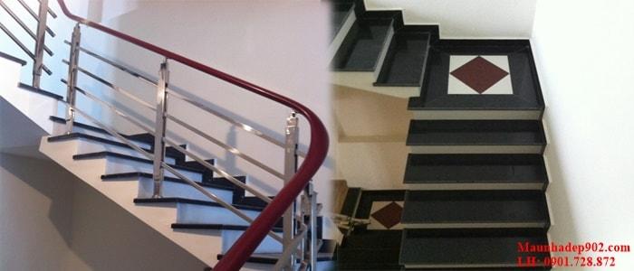 Kích thước của chiếu nghỉ ảnh hưởng rất nhiều tới tính thẩm mỹ của cầu thang cũng như toàn bộ tổng thể ngôi nhà.