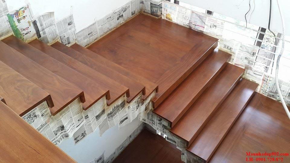 Kích thước chiều rộng của mặt bậc cầu thang cần phải được tính toán tỉ mỉ và chính xác để có thể đảm bảo an toàn cho người sử dụng