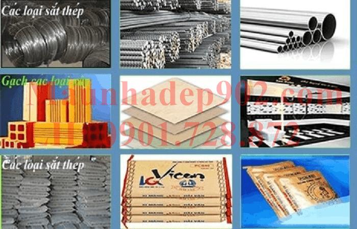 Tìm hiểu về bảng kê nguyên vật liệu xây nhà
