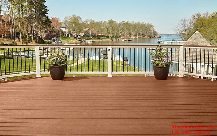 Sự hài hòa và cân bằng vê âm dương chính là yếu tố vô cùng quan trọng trong việc lựa chọn gạch lát sân thượng