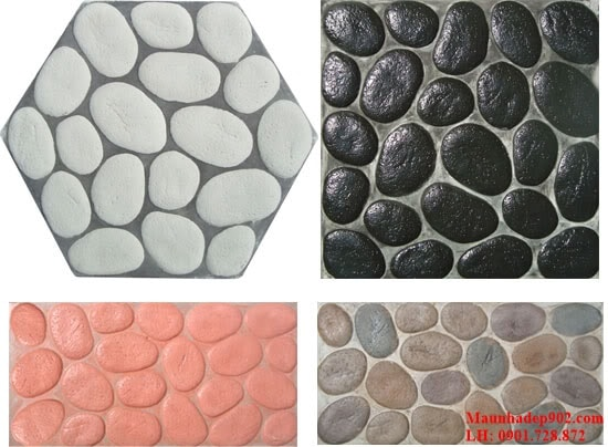 Gạch giả đá, sỏi thường mang lại sự tự nhiên cho không gian sống