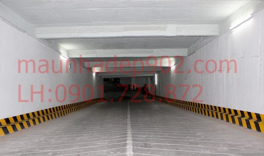 Tầng hầm giúp tăng không gian để xe, giảm thiểu tai nạn giao thông