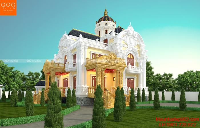 Công trình Kiến trúc 902 thiết kế cho nhà anh Quang - Chị Ngọc ở Sơn La