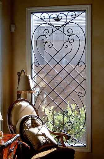 Mẫu song cửa sổ cuốn hút