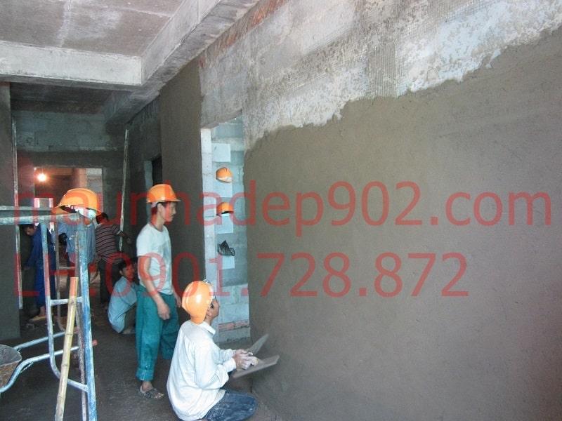 Trát tường xây dựng còn giúp bảo vệ ngôi nhà khỏi các hiện tượng thấm, dột