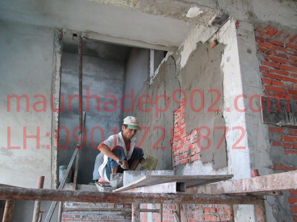 Có khá nhiều nguyên nhân tác động tới chất lượng của việc trát tường