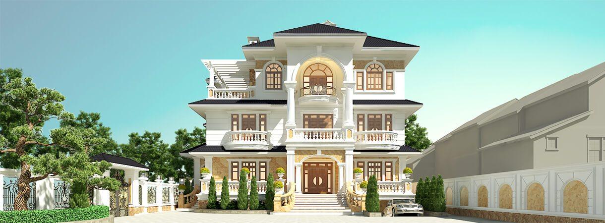 Xây biệt thự cần bao nhiêu tiền phụ thuộc vào nhiều yếu tố
